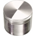 Aluminium Grinder - 4 part - 56mm - Silver