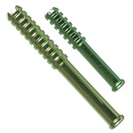 Digger One Hitter Pipe - Anodized Aluminum Bat - Green